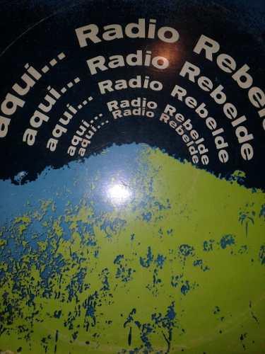 Lp Aqui Radio Rebelde. Desde La Sierra Maestra Cuba