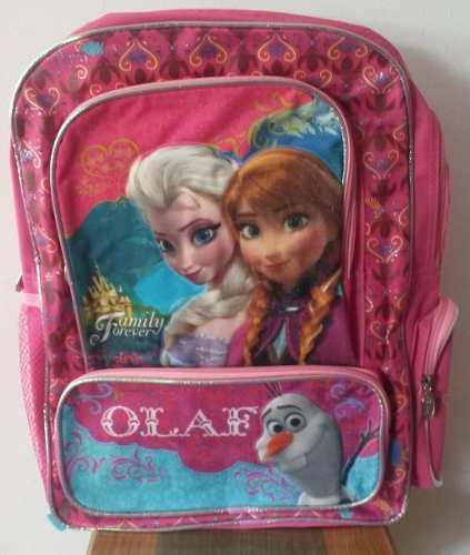 Morral Escolar De Frozen Original De Disney