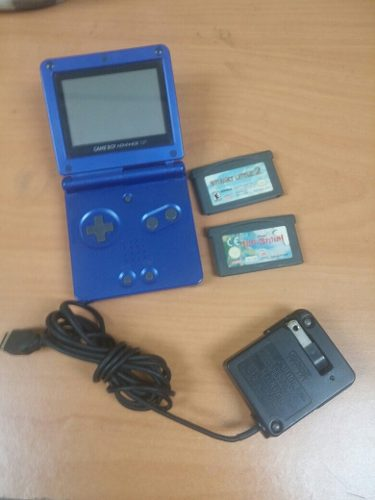 Nintendo Game Boy Advance Sp + 2 Juegos