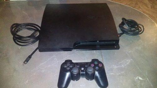 Vendo Sony Ps3 Slim De 160gb En Buen Estado Con 13 Juegos.