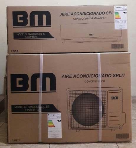 Aire Split Acondicionado  Btus Consola De Lujo