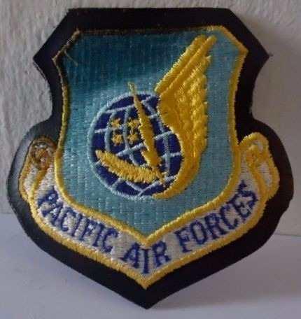 Antigua Insignia De Las Fuerzas Aéreas Del Pacifico!