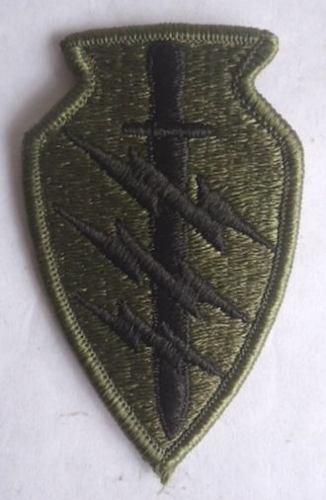 Antigua Insignia De Las Fuerzas Especiales Boinas Verdes! 2