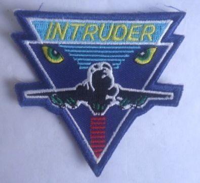 Antigua Insignia Del Intruder A-6 Por Horas De Vuelo! U.s.a!