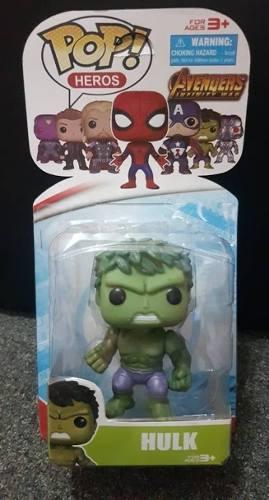 Avengers Figuras Coleccion Hulk Ironman Thor Tipo Funko
