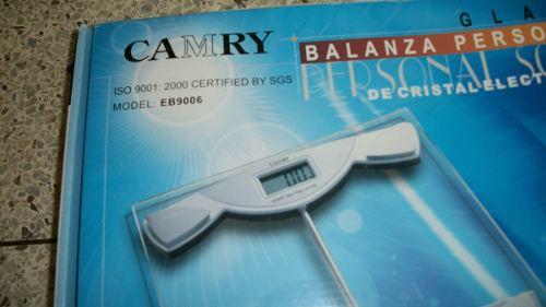 Balanza Digital Personal Camry