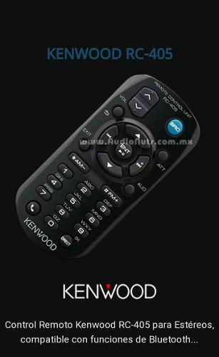Control Remoto Reproductores Kenwood 405 Nuevo A Estrenar