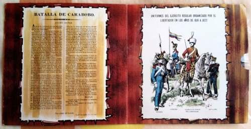Disco De Acetato 45rpm_conmemoración Batalla De Carabobo