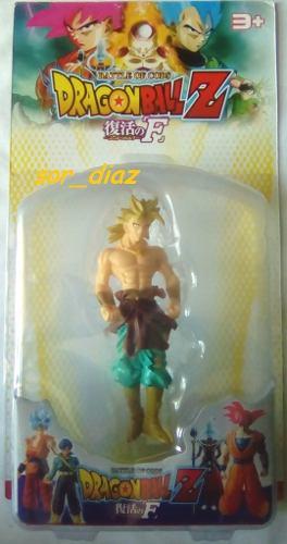 Figura De Broly 12 Cm Goma Dura. Dragon Ball