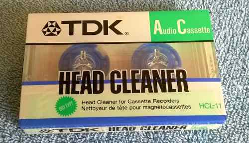 Limpiador De Cabezales De Reproductores Marca T D K