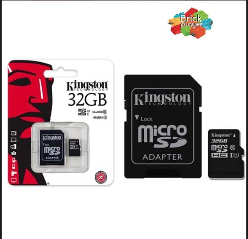 Memoria Micro Sd De 32 Gb Kingston Al Mayor