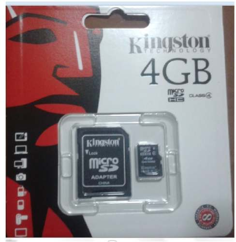 Memoria Micro Sd Kingston 4gb Original