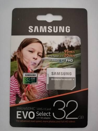 Memoria Microsd Samsung 32gb
