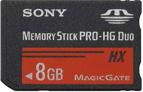Memory Stick Pro Duo 8gb Mark2 Sony Alta Velocidad