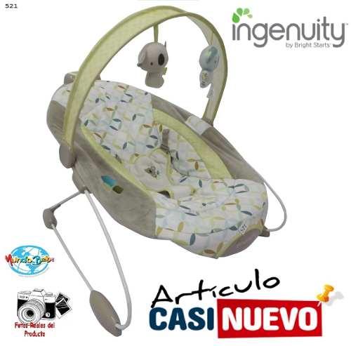 Silla Mecedora Para Bebe Ingenuity Impecable.-