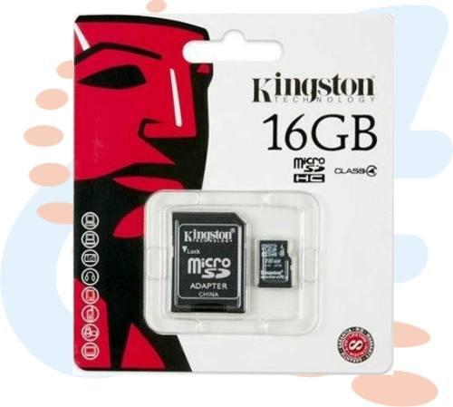 Tarjeta Memoria Micro Sd Kingston 16gb Ultra Hd100% Original