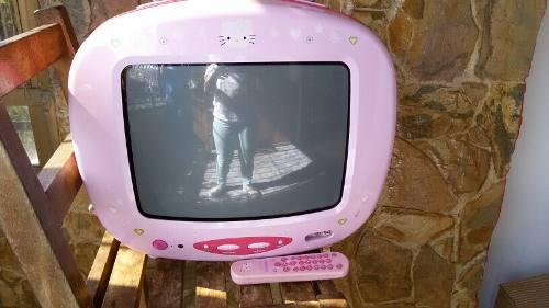 Televisor Hello Kitty Usado En Buen Estado