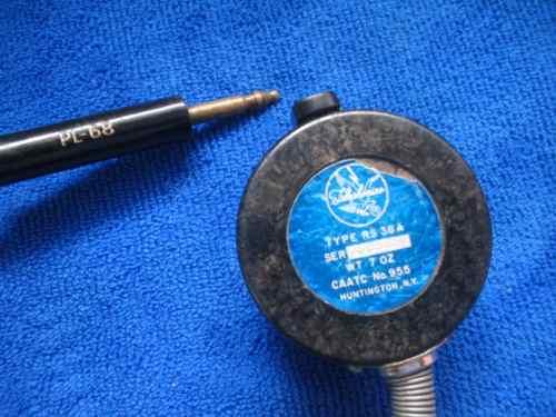 Vintage Microfono De Avion Modelo Rs-38a