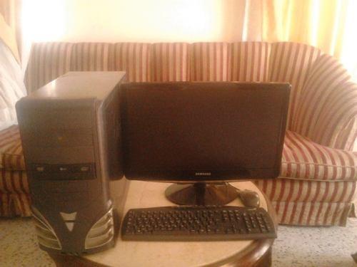 Computadora Dual Core 3.2ghz+2ram+500dd+monitor 22 Pulgadas