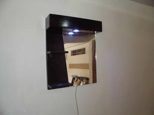 Mueble Moderno Minialista Con Espejo Para Baños