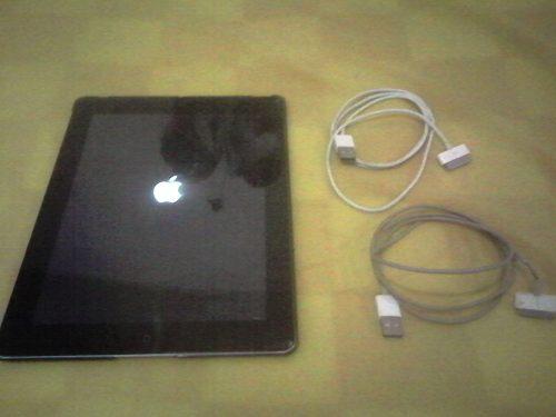 Repuesto Apple Ipad 3 De 64gb Con Su Cable De Datos
