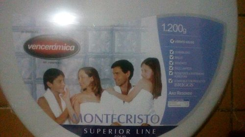 Tapa De Poceta Venceramica Montecristo g Redondo