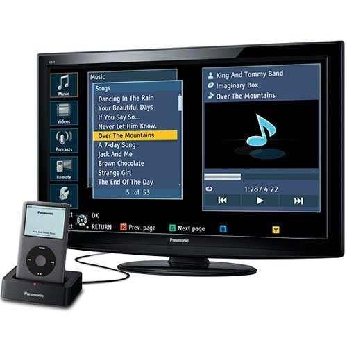 Tv Panasonic De 32 Con Ipod Dock Combo Oferta