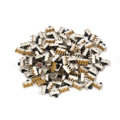 100 Pcs Mini Interruptor Deslizante Repuesto