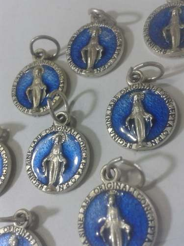 304 Se Vende Las Medallas De La Milagrosa T.mini Esmaltada.