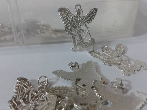 74 Se Vende Medalla O Silueta En Plata Ley 950 De San Miguel