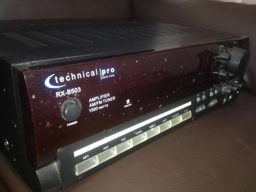 Amplificador Technical - Modelo Pro Rx B504