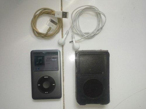 Apple Ipod Classic 160 Gb Silver Oscuro (7ma Generation)