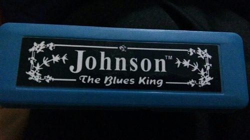 Armonica (harmonica) Johnson Afinada En Clave De Do (c)