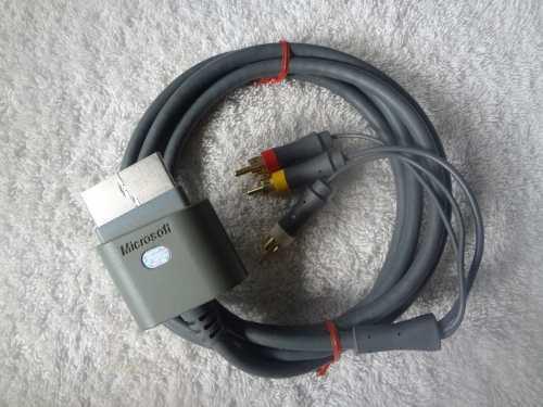 Cable Para Xbox 360 De Audio Y Video