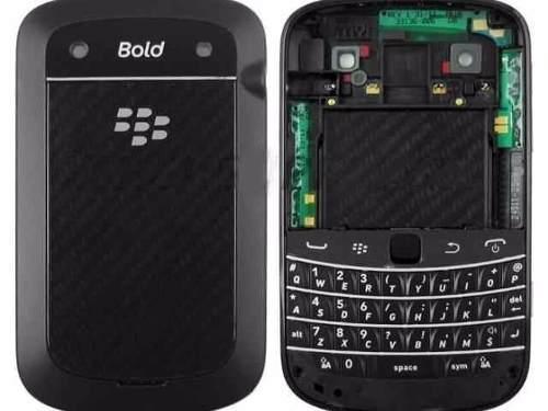 Carcasa Blackberry Bold 5 9900 9930 Negra Completa