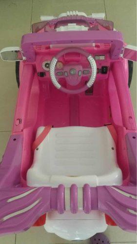 Carro De Batería Para Niña Con Control