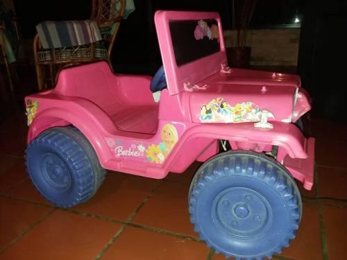 Carro Eléctrico De Barbie