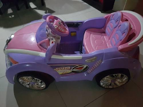 Carro Eléctrico Para Niña En Excelente Estado