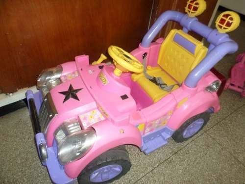 Carro Jeep De La Barbie Funciona Perfectamente