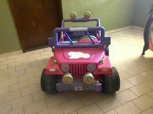 Carro Jeep Fisher Price De Niña