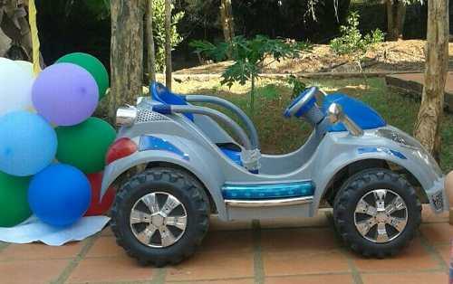 Carro Para Niños De Batería