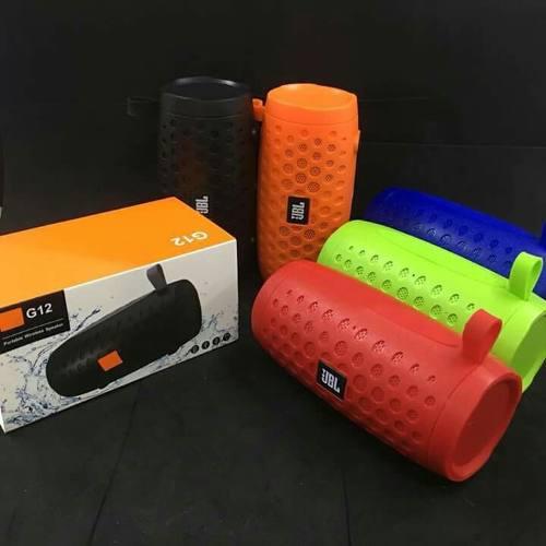 Corneta Bluetooth Jbl Wireless Portatil G12 Jbl Inalambrica
