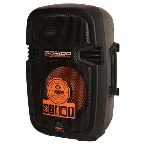 Corneta Portatil Ms1000bt 1000w Usb Microfono/control Bagc