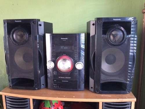 Equipo De Sonido Panasonic Sc-akx32pn-k