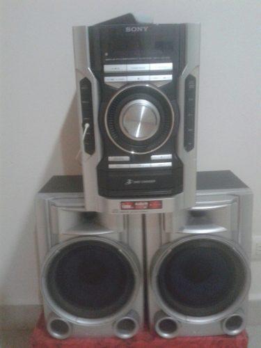 Equipo De Sonido Sony 3cd's +control Y Microfono