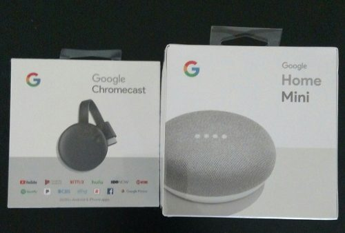 Google Home Mini. Chromecast. Nuevos Y Originales