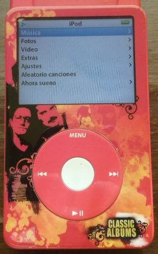 Ipod Classic 30 Gb, Version History Channel