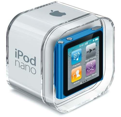 Ipod Nano 6ta. Generación 16gb Color Plomo
