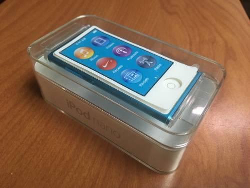Ipod Nano 7ma Generacion 16 Gb Original Azul Como Nuevo