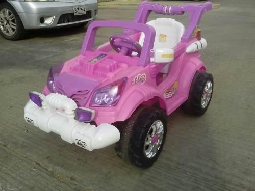 Jeep De Bateria Para Niñas